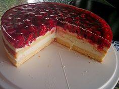 Himbeer - Käsesahne - Torte, ein raffiniertes Rezept aus der Kategorie Torten. Bewertungen: 44. Durchschnitt: Ø 4,4.