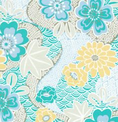 1 Yd Laminated Cotton Fabric Annette Tatum Soliel by jennalyns, $13.65