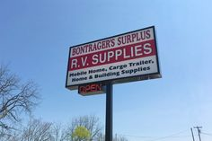 One of the largest RV & Mobile Home surplus dealers in Michigan & Indiana Bontrager's Surplus is your connection for quality surplus RV parts and mobile home improvement materials AT THE LOWEST POSSIBLE PRICES!