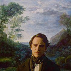 Jane Eyre (2011) #charlottebronte #caryfukunaga - Background painting by Claude Lorrain (x)