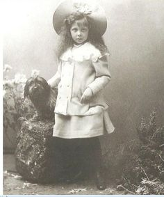 PRINCESS ELISABETH OF HESSE WAS BORN MARCH 11, 1895. SHE WAS THE ONLY DAUGHTER OF GRAND DUKE ERNEST OF HESSE-DARMSTADT AND HIS WIFE VICTORIA MELITA.