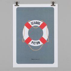 PAPER PLANE - Print - Nautical Man