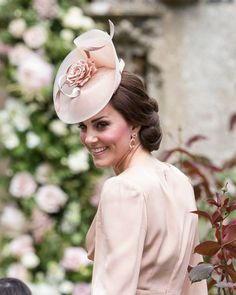 Catherine, Duchess of Cambridge attends the wedding of Pippa Middleton and James Matthews at St Mark's Church on May 20, 2017 in Englefield Green, England.
