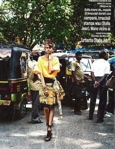 STELLA JEAN'S AFRICAN PRINT DRESSES FEATURED IN DIVAMODA MAGAZINE FEBRUARY 2013