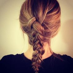 Dutch Braid Tutorial - easy one to try this weekend!