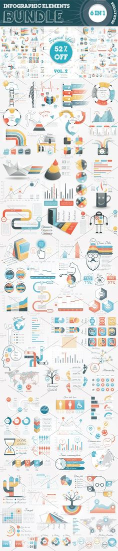 @newkoko2020 52% OFF Infographic Creator Kit by Infographic Paradise on @creativemarket #infographic #infographics #bundle #download #design #template #set #presentation #vector #buy #graph #discount