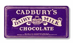Cadbury's chocolate bar from 1923.  Delicious English chocolate.