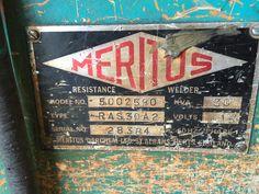 Used Meritus Spot Welder