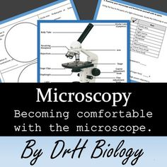 Teach the microscope. This helps students visualize the difference in cell types… Mad Science, Stem Science, Science Biology, Teaching Science, Science For Kids, Biology Review, Biology Lessons, Science Lessons, Middle School Teachers