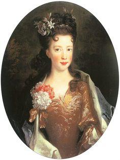 1700 Nicolas de Largillière - Princess Louisa Maria Teresa Stewart