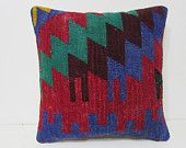 moroccan pillow cover 18x18 decorative throw pillow unique decor home furnishings kilim pillow case striped throw pillow aztec pillows 27989