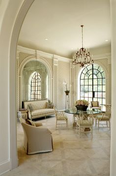 traditional dining room by Christy Dillard Kratzer