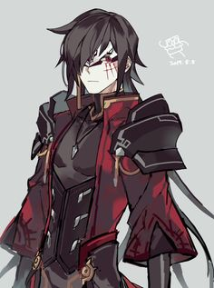 Tweets de Media par Chocorong (@kyh970) | Twitter Gothic Anime, Anime Fantasy, Fantasy Art, Fantasy Character Design, Character Design Inspiration, Otaku Anime, Anime Art, Fantasy Characters, Anime Characters