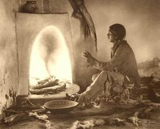 """""""Home from the hunt"""". Taos Pueblo, New Mexico. Early Photo by Carl Moon/Fred Harvey. North American Tribes, Native American Photos, Native American History, Native American Indians, Native Americans, Pueblo Tribe, Taos Pueblo, Fine Art Photo, Photo Art"""
