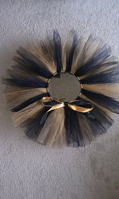 Black and Gold Tutu for my new year masquerade gold mask!