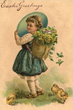 Old Easter Post Card —