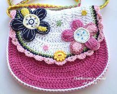 crochet bag - Háčkovaná kabelka.
