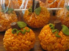 Pumpkin Ricecrispy Treats Recipe