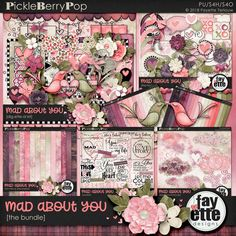 Mad About You Bundle by Fayette Designs