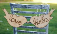 The 'Love Birds' will play a very important role in the wedding industry during 2013.  You can incorporate them into your wedding in so many ways <3