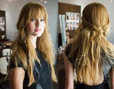 Cute and casual hairstyle by Cortello Salon