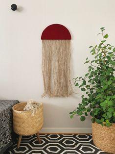 Sally | Handmade Fiber wall art | Home Decor | Contemporary wall art | Wall hanging | Wall Tapestry | Fabric wall art | Modern fiber art