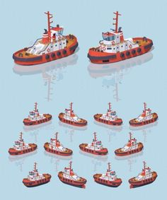 Download Free Graphicriver Low Poly Red and White Tugboat #3d #boat #cargo #commercial #export #freight #harbor #illustration #industrial #industry #infographic #isometric #logistic #marine #maritime #nautical #ocean #port #sea #ship #shipping #tow #transport #transportation #tug #tugboat #vector #vessel #water #wave