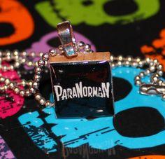 ParaNorman Scrabble Tile Pendant