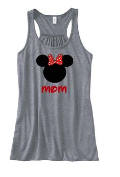 Disney Minnie Mouse Family Vacation Flowy Tank Top, Disney Shirt, Disneyland Shirt, Disney TShirt
