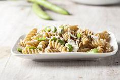 Fusilli integrali fave e ricotta forte #Star #ricette #pasta #primo #fusilli #fave #ricotta #food #recipes