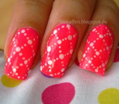 Quilted dotting