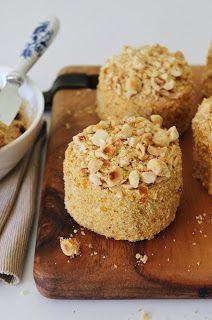 Zoet & Verleidelijk: Hazelnootgebakjes met mokkacrème