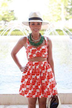 Punta Cana: DIY Crop Top Dress