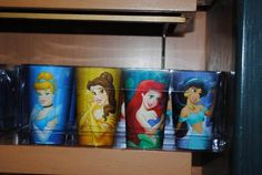 Disney World Princess 3D Tumbler Cup Set of 4 - WDW Mouse Tales Store. Why are these SO expensive???