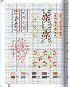 Fashion plates cross stitch pattern part 3