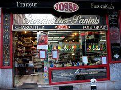 A shop in Paris, France.
