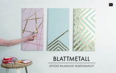 Bildgestaltung mit Blattmetall!