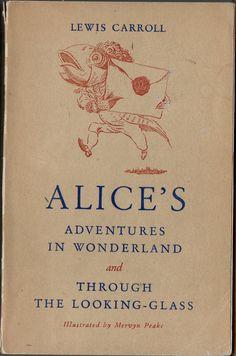 Alice's Adventures in Wonderland. 1946. Illustrations: Mervyn Peake.