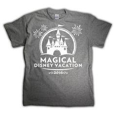 Matching Shirt for Walt Disney World vacation