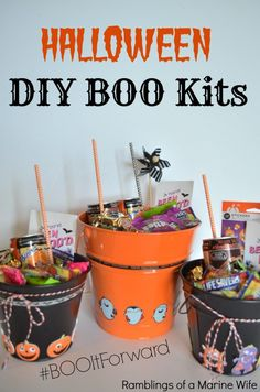 DIY BOO Kits To BOO