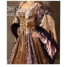 Free shipping Medieval Dress Renaissance Celtic court costume