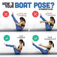 いいね!1,003件、コメント10件 ― Jib Aksorndeeさん(@yogawithjib)のInstagramアカウント: 「#howtoyogawithjib Boat pose or navāsana is not so much about straightening your legs or letting…」