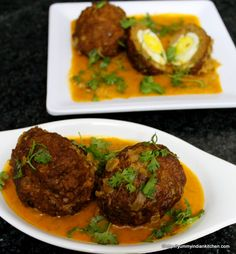 Nargisi Kofta is a yummy meat kofta recipe similar to mutton kofta but it takes in egg as a stuffing.#kofta #meatrecipes #mutton #nonvegrecipes