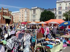 SHOPPING. Hietalahti Flea Market. One popular attraction in the city is the Hietalahti flea market, which is the largest and oldest open-air flea market in Finland.