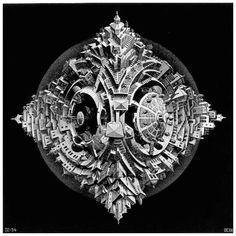 Galerie Iluzii optice - Asteroidul tetraedru
