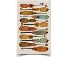 Linocut printmaking and illustration by Andrea Lauren 2013 Calendar, Print Calendar, Calendar Design, Calendar Ideas, Andrea Lauren, Music Illustration, Graphic Illustration, My New Room, Print Design