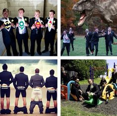 Funny groomsmen pictures -- yep totally must do these!