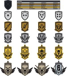Does this make you feel happy? Visit our page for FREE Twitch Prime for 30 days and more awesome stuff from the Rainbow Six Siege Community Sketchbook Inspiration, Logo Inspiration, Game Icon Design, Action Icon, Military Ranks, Steampunk, Star Wars Books, Darkest Dungeon, Flat Logo