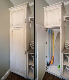 Image Of Broom Closet Design Storage Ideas Small Diy