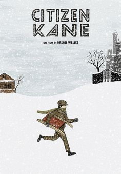"""Citizen Kane"" -- No. 2 on the 100 Best Movies of All Time list for a reason. PHENOMENAL flick!!"